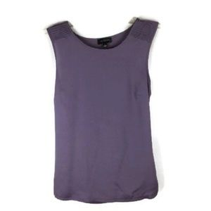 The Limited Womans Size S Purple Tank Top Hi-Lo